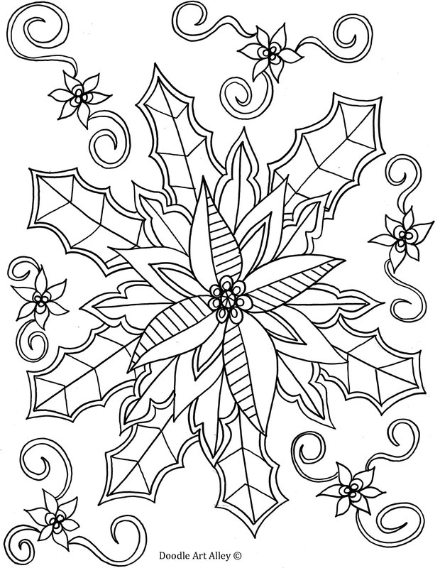 Winter Coloring pages - Doodle Art Alley   winter coloring pages adults