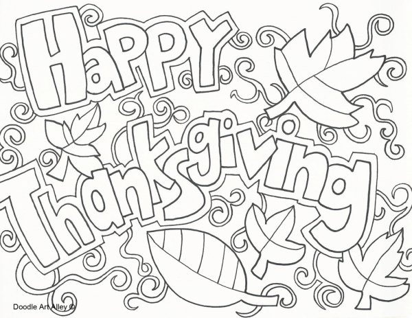 thanksgiving coloring pages # 4