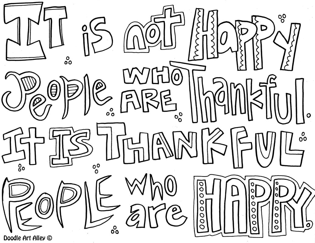 Free Coloring Pages Download Attitude Quote Doodle Art Alley Of