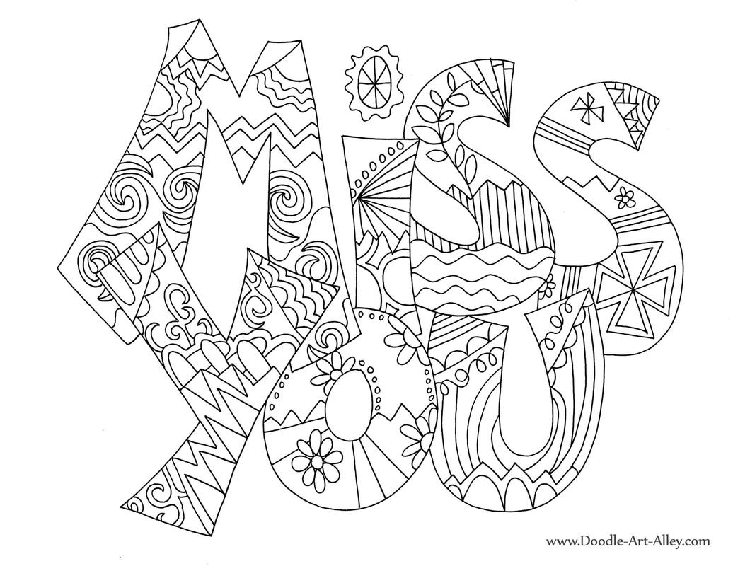 Greeting Card Coloring Pages