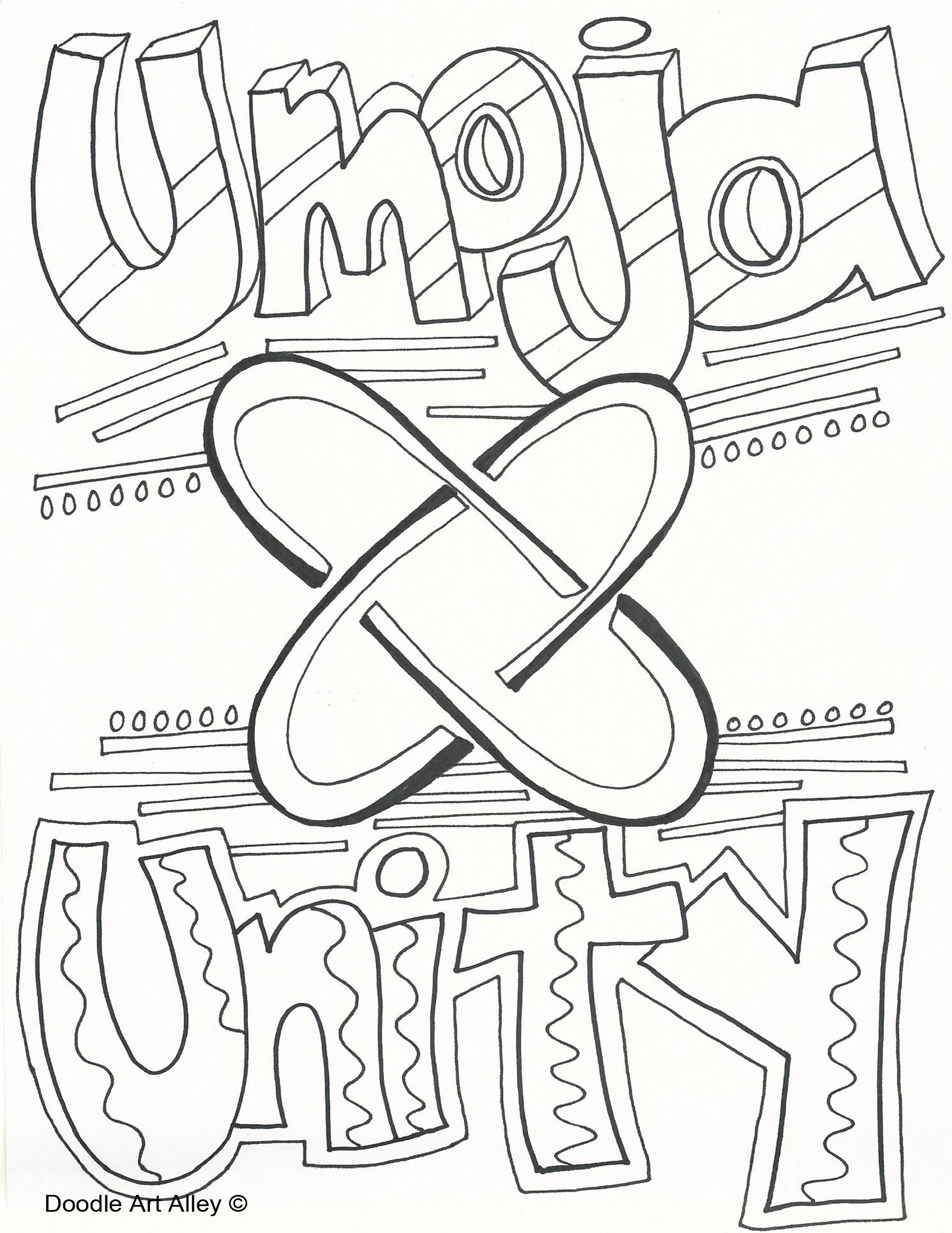 Kwanzaa Coloring Pages