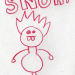 a drawing of a snuh