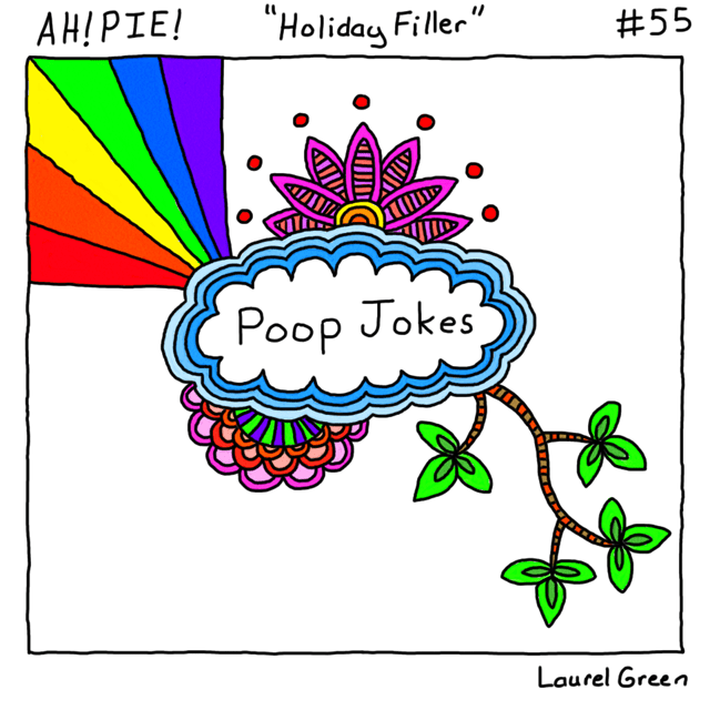 a comic about poop jokes