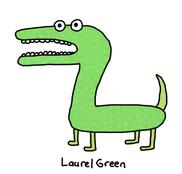 a drawing of a screaming dinosaur