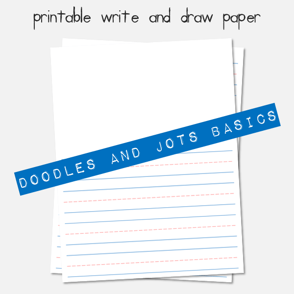 Write and draw paper