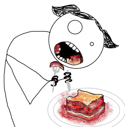 I can haz lasagna now.