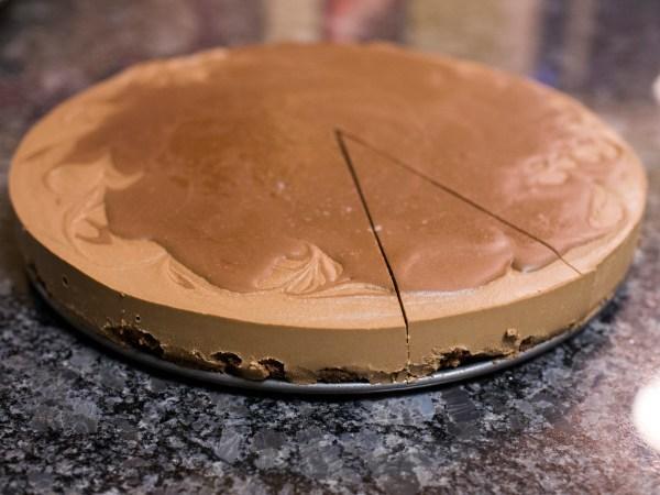 Vegan Chocolate Cheesecake | doomthings