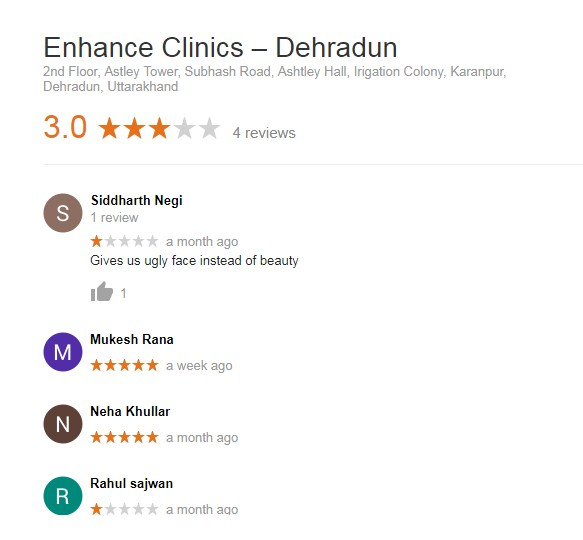 enhance clininc reviews and feedback