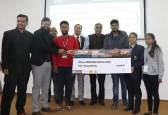 तुलाज इंस्टीट्यूट में हैकाथॉन आयोजित, विजेता पुरस्कृतत