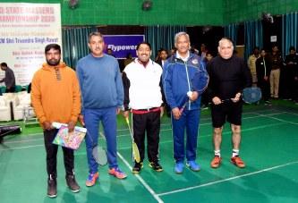 मुख्यमंत्री ने 19वीं उत्तराखण्ड स्टेट मास्टर्स बैडमिंटन चैंपियनशिप- 2020 का शुभारम्भ किया