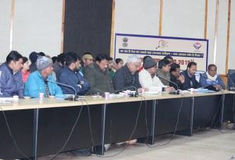 अल्मोड़ा: ग्रामपंचायतों के सतत् विकास को 15 वर्ष का विजन डाकुमेंन्ट तैयार करेंः डीएम