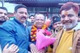 हरिद्वार: नवनियुक्त भाजपा प्रदेश अध्यक्ष बंशीधर भगत का कार्यकर्ताओं ने किया भव्य स्वागत