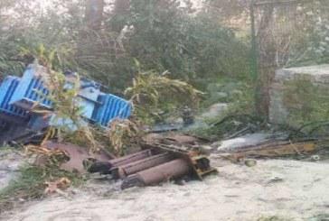 हरिद्वार : नारसन के उल्हेड़ा गांव में चोरों ने उड़ाया ट्रांसफार्मर