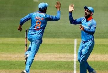 सीरीज पर भारत का कब्जा भारत ने ऑस्ट्रेलिया को तीसरे और अंतिम वनडे में सात विकेट से जीता