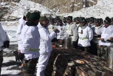 थलसेना प्रमुख जनरल एम एम नरवणे ने सियाचिन का दौरा किया