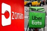 जोमैटो ने उबर ईट्स का 2500 करोड़ रुपए में किया अधिग्रहण