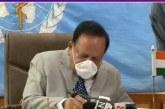 WHO के एक्जीक्यूटिव बोर्ड के चेयरमैन बने डॉ. हर्षवर्धन