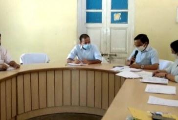 राष्ट्रीय आजीविका मिशन के तहत नगर निगम प्रशासन की फेरी समिति की बैठक आयोजित