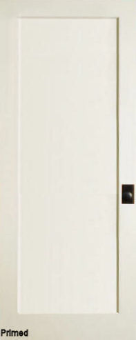 Mission 1 Panel Primed MDF Interior Doors Homestead Doors
