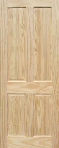 Pine 4 Panel Wood Interior Doors Homestead Doors