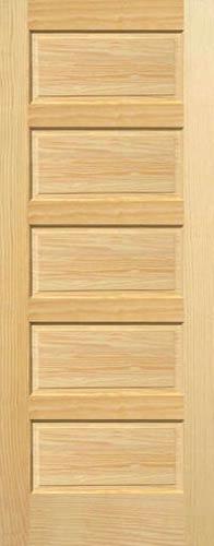 Pine Horizontal 5 Panel Wood Interior Doors Homestead Doors