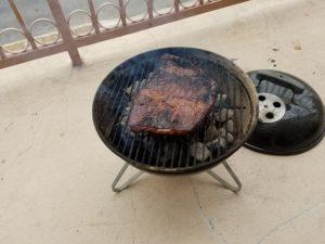 grilling after flip
