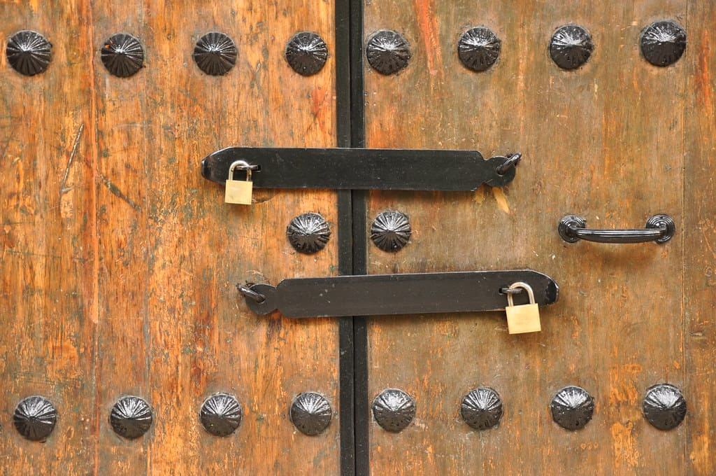 shed security ideas and how to secure double shed doors