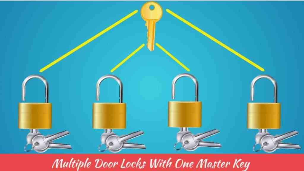 multiple door locks with one master key