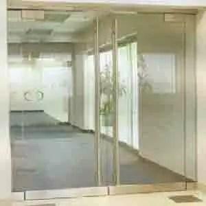 Glass doors 1