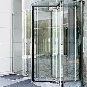 commercial building glass door