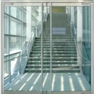 commercial building glass doors