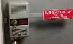 Panic Device 0005 panic device with alarm