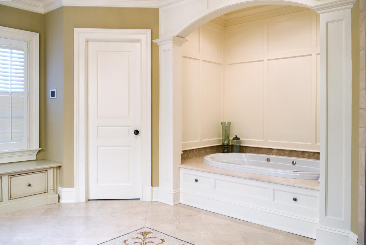 title | Interior bathroom doors