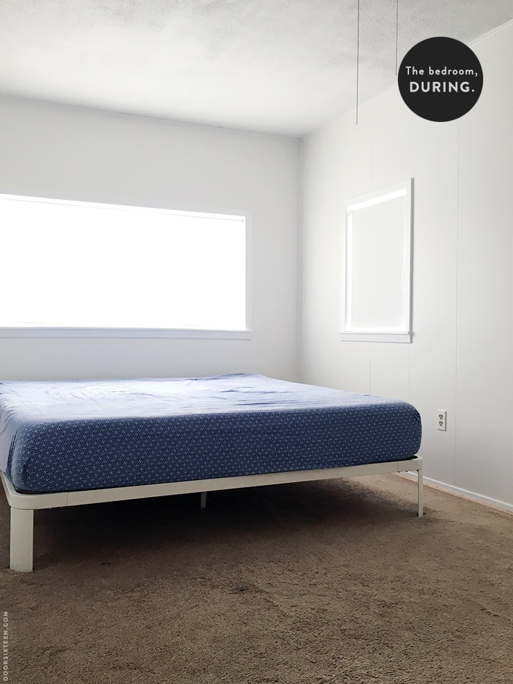 Bedroom makeover - doorsixteen.com
