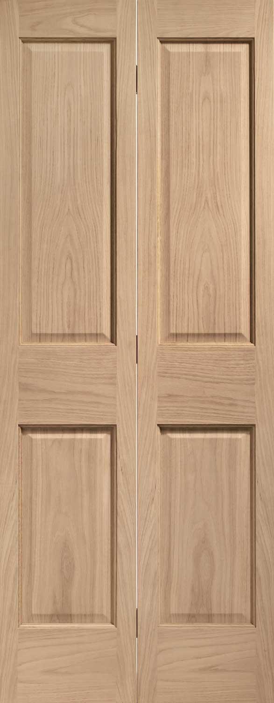 Victorian 4 Panel Oak Amp Bifold Doors