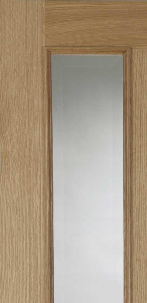 6 Panel Amp 8 Light Oak RM Internal Doors
