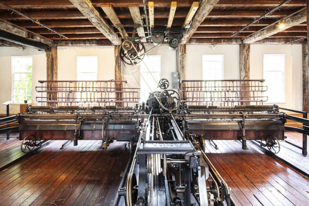 Slater Mill Inside