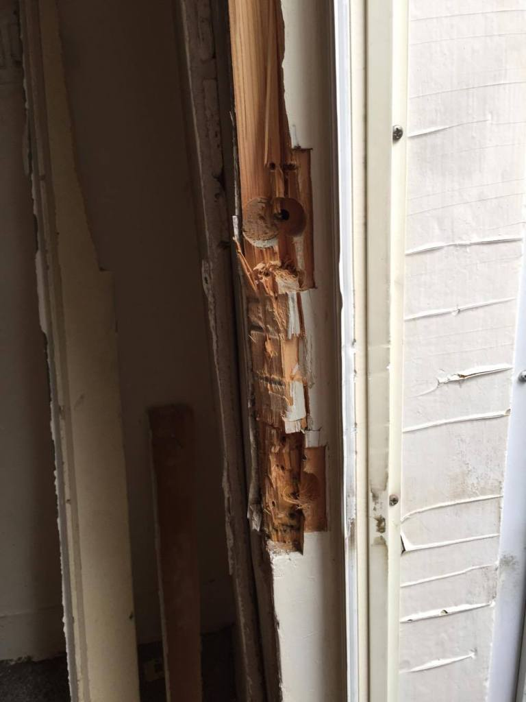 Door Repair after Break in