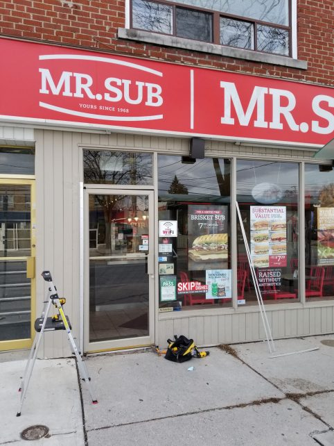 Commercial Storefront and Entrance Doors Toronto