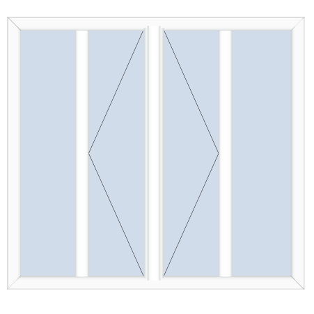 upvc sliding patio doors double opening with sidelights