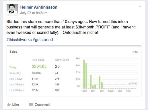 10 days $3k per month
