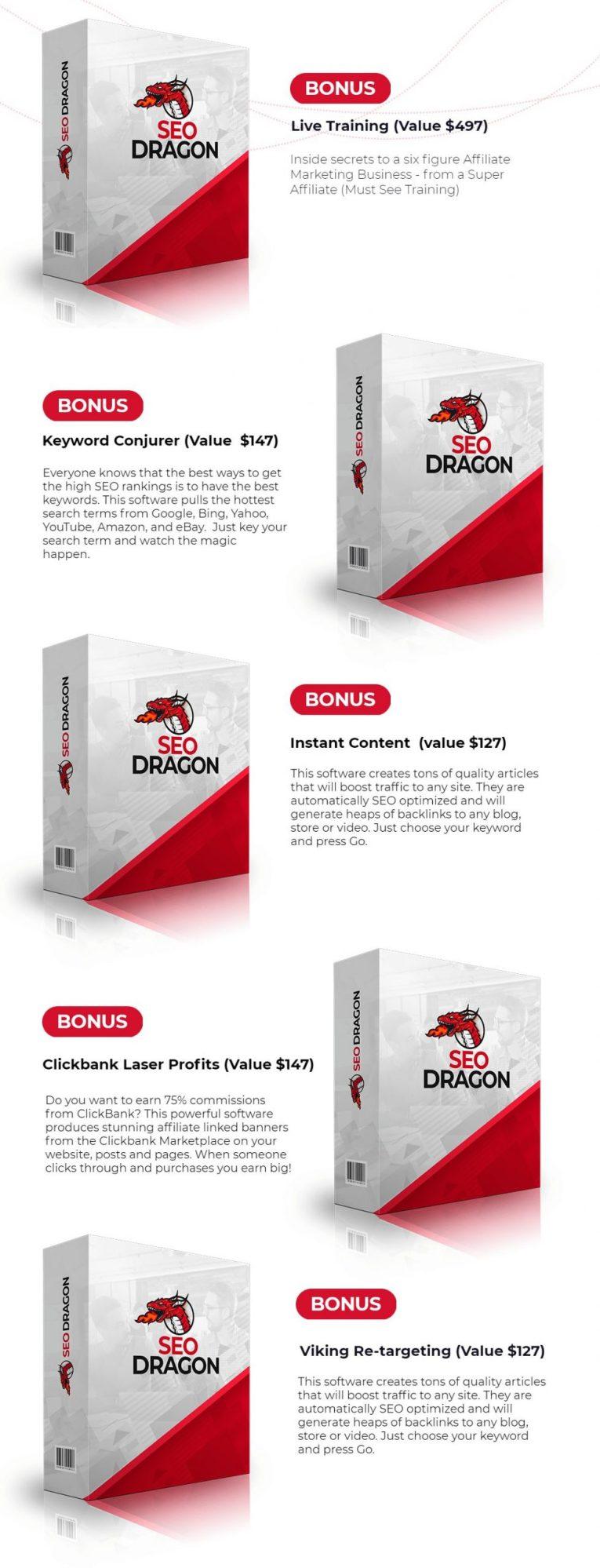 SEO Dragon bonus