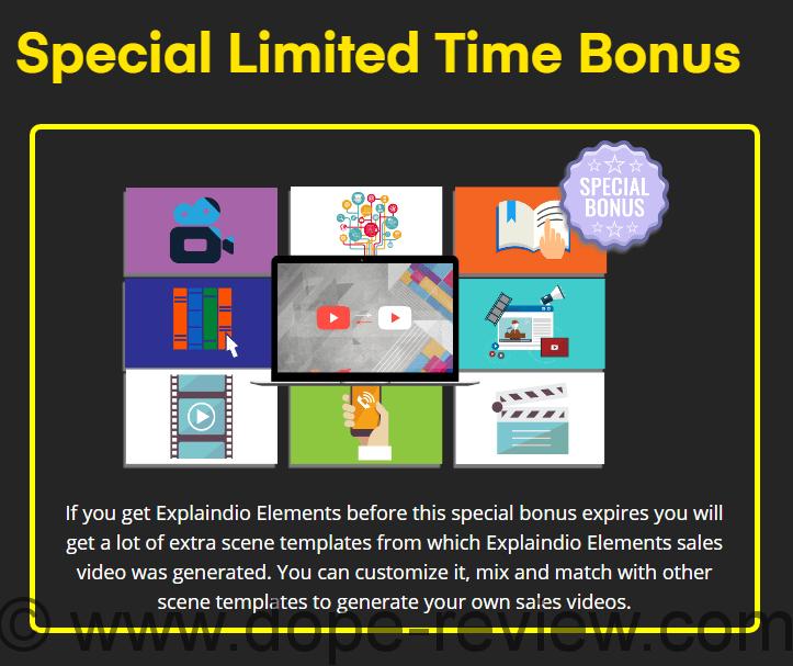 Explaindio Elements Bonus