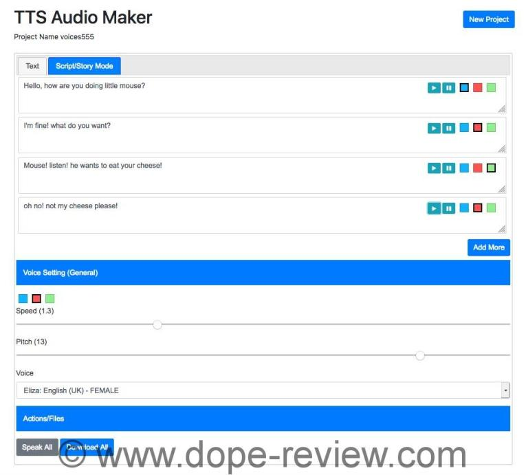 TTS Audio Maker Review
