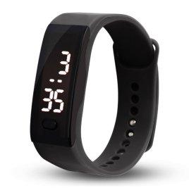 Malltop Leather Bracelet plus LED watch