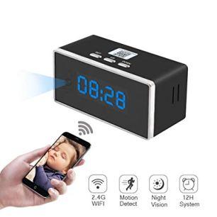 Mini Hidden Clock Camera with Wi-Fi