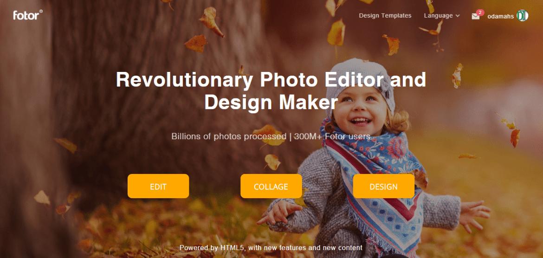 Fotor Online Designer
