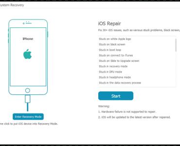 Tuneskit iOS repair software 01