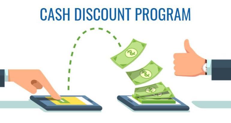 Cash Discount Programs