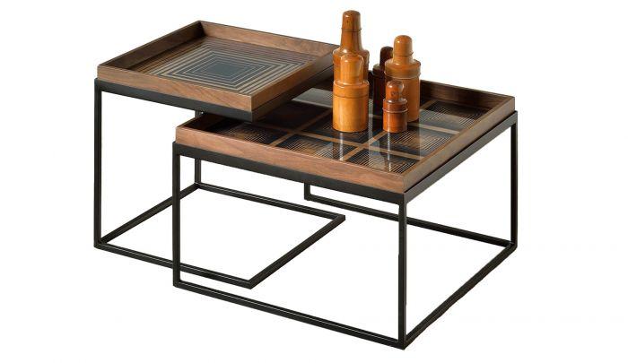 notre monde square tray coffee table set s l